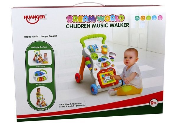 Multifunctional Pusher For Baby Helping With First Step