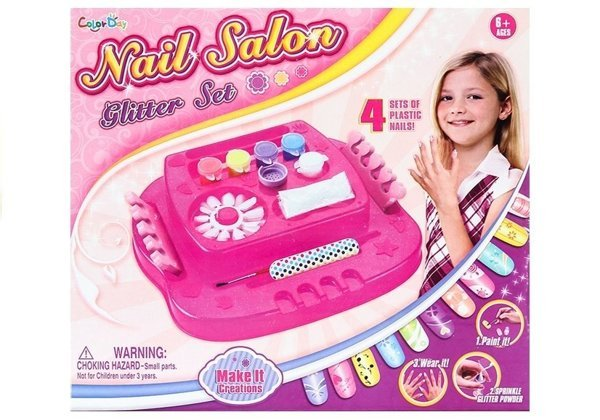 Nail Salon Glitter Set