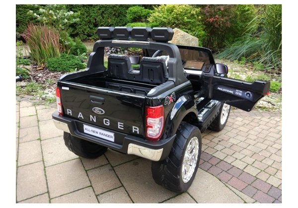 New Ford Ranger Black Painting - 4x4 Electric Ride On Car