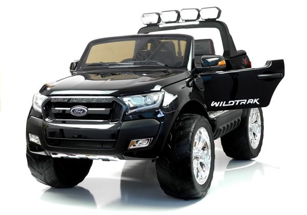 New Ford Ranger Black Painting - 4x4 Electric Ride On Car - LCD Display