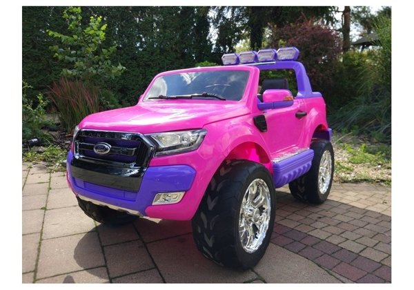 New Ford Ranger Pink - 4x4 Electric Ride On Car