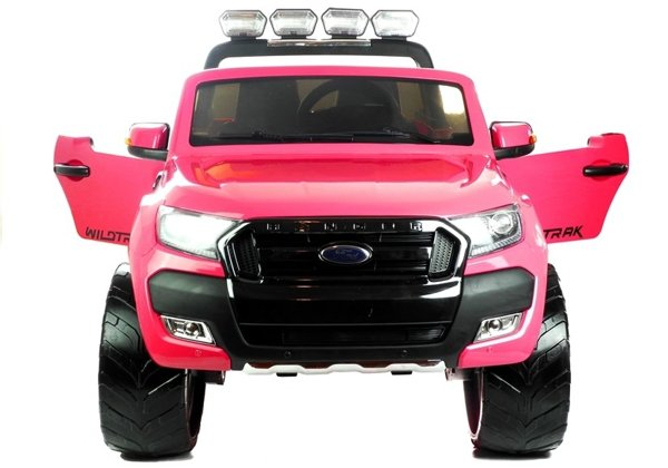 New Ford Ranger Pink Painting - 4x4 Electric Ride On Car