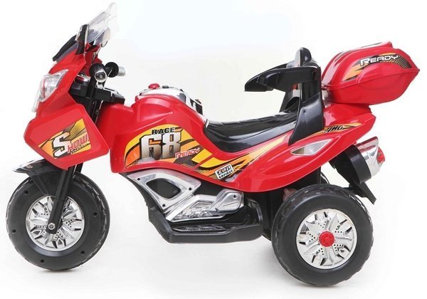 PB378 Electric Ride-On Bike Red