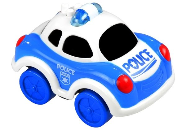Police Car - Battery Powered Toy with Sounds & Lights
