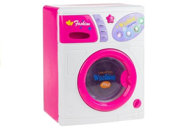 Realistic Roleplay Washing Machine Toy