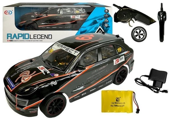 Remote Controlled Car 1:10 R/C 2.4G Blue