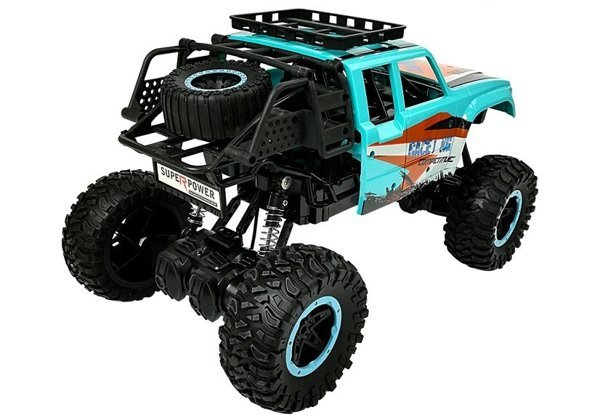 Remote controlled Car Off-road R/C 1:14 car Blue