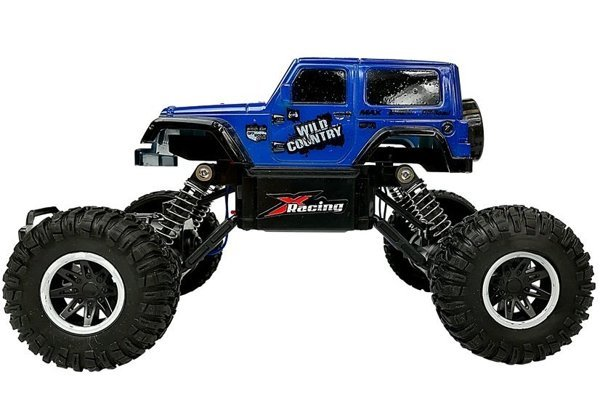 Remote controlled Car Toy 2.4 GHz Blue