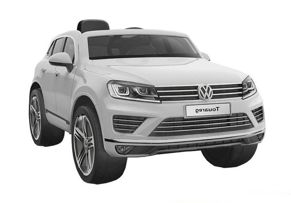 Ride On Car Volkswagen Touareg Silver