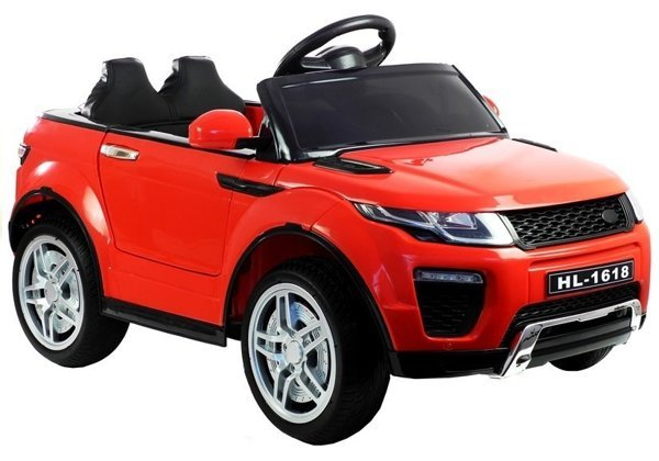Ride on Car HL1618 Red Lights EVA-Wheels 2.4G leather seats FM USB SD