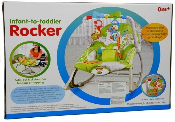 Rocking Chair Bouncer 3 In 1