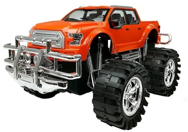 Set of Vehicles Monster Truck Tow truck 58 cm
