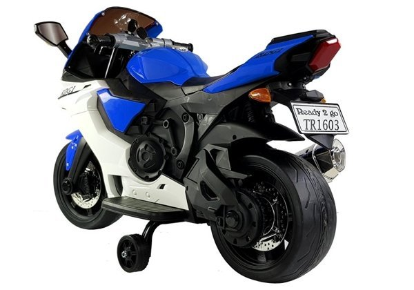 TR1603 Electric Ride-On Motorbike Blue