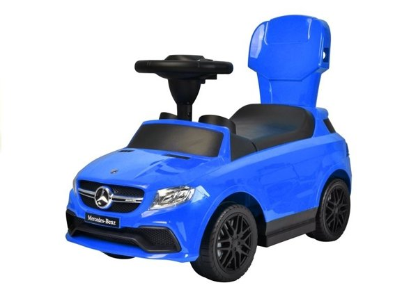 Toddlers Ride On Push Along Childrens Kids Car 2 Colors Detachable Parts Sound