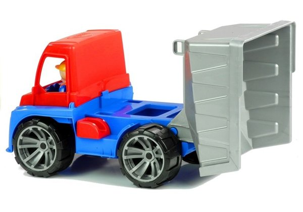Toy Trolley Red and Blue 27 CM 04400