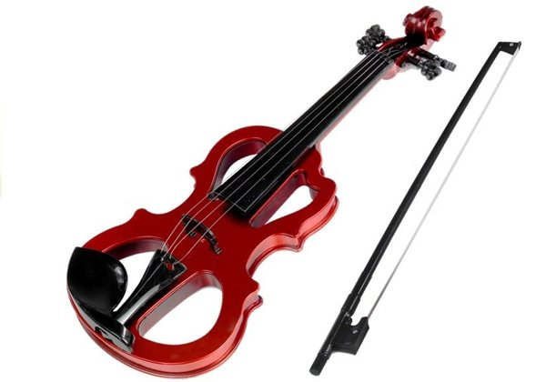 Violin, Bow with Light and Sound Effects