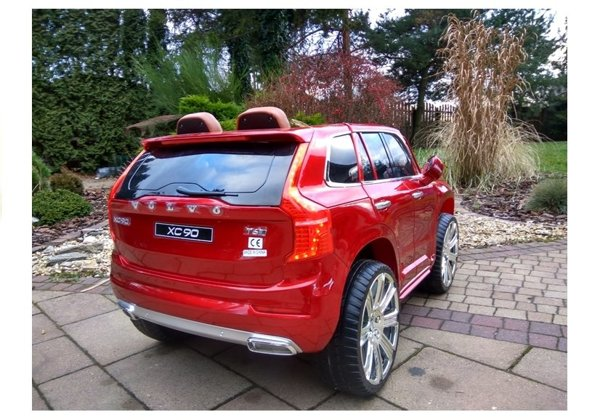 Volco XC90 Red Painting - Electric Ride On Car