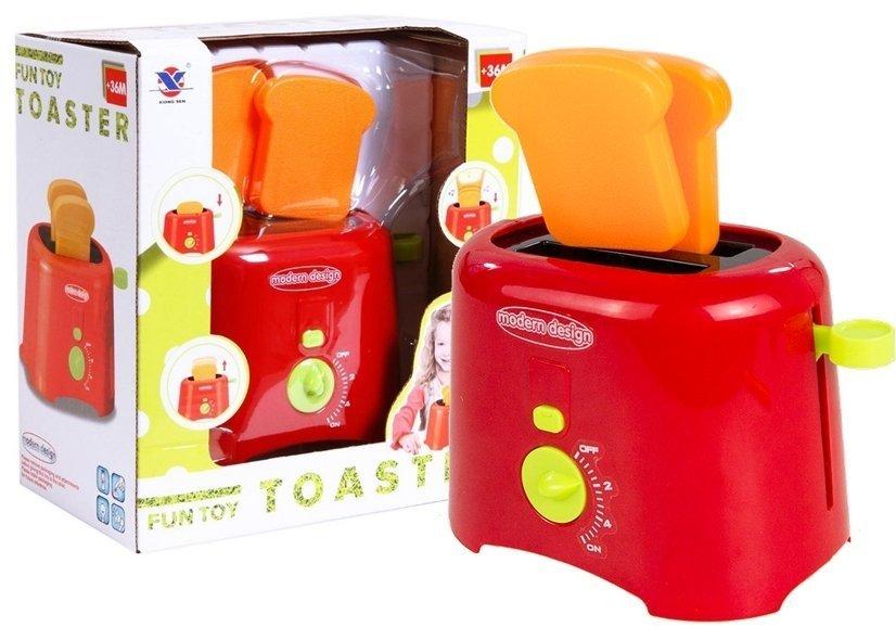 Kinder Toaster Spielzeug Küchenzubehör Kindertoaster mit Sound ...