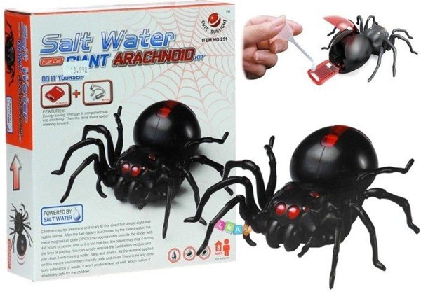 Salzwasser Spinne Salt Water Fuel Cell Spider grüne Energie Magnetplatten Set